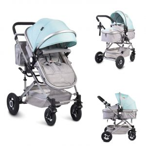 Moni Kinderwagen Ciara Tragetasche, Sportsitz, Wickeltasche, faltbar Sitz blau