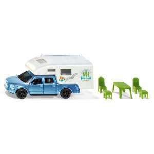 SIKU 1693 Ford F150 Pick-Up Camper