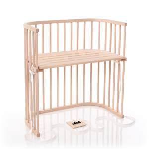 Babybay 'Boxspring' Beistellbett unbehandelt