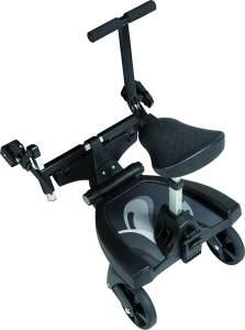 Fillikid Buggyboard 180° inkl. 3-fach verstellbaren Sitz, universell einsetzbar