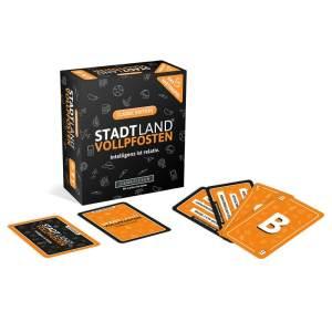 DENKRIESEN 'STADT LAND VOLLPFOSTEN – Das Kartenspiel – Classic Edition', ab 12 Jahren, 3 - 6 Spieler, 30 min Spielzeit