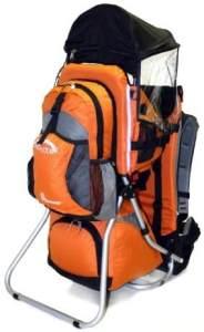 MONTIS HOOVER, Premium Rückentrage, Kindertrage, -25kg Orange
