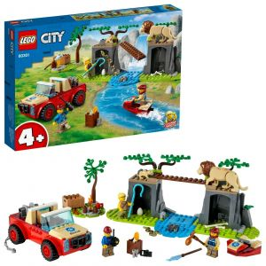 LEGO City 60301 'Tierrettungs-Geländewagen', 157 Teile, ab 4 Jahren
