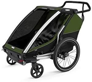 Thule 'Chariot Cab 2' Fahrradanhänger 2021 Cypress Green