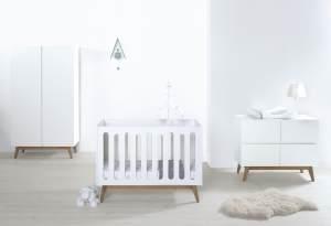 Quax 'Trendy White' 3-tlg. Kinderzimmer-Set 2-Türig