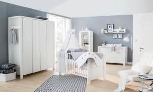 Schardt 'Milano' 3-tlg. Babyzimmer-Set Schrank 4-türig