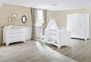Kinderzimmer 'Pino' breit groß mit 3 Türen
