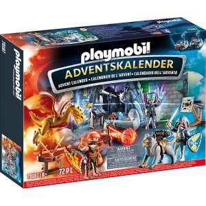PLAYMOBIL Novelmore 70187 'Adventskalender Ritterduell', 72 Teile, ab 8 Jahren