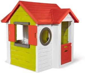 Smoby 'Neo Mein Haus' Spielhaus, 135 x 132 x 118 cm, Fassade aus pflegeleichtem und UV-stabilem Kunststoff, ab 2 Jahren