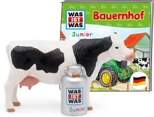 Tonies WAS IST WAS Junior 'Bauernhof', Hörfigur mit ca. 43 Minuten Spielzeit, ab 4 Jahren