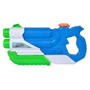 Simba Wasserpistole Double Blaster 36 cm blau/grün