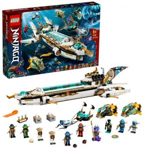 LEGO NINJAGO 71756 'Wassersegler', 1159 Teile, ab 9 Jahren