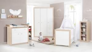 Roba 'Leni 2' 3-tlg. Babyzimmer-Set Schrank 3-türig