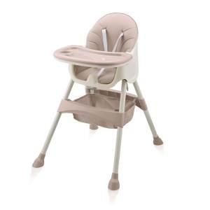 Baby Vivo 'Oscar' Design 2in1 Kinderhochstuhl pink