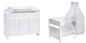 Schardt 'Planet White' 2-tlg. Babyzimmer-Set