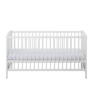Schardt 'Conny' Kombi-Kinderbett 70x140 cm, weiß, 3-fach höhenverstellbar, Schlupfsprossen