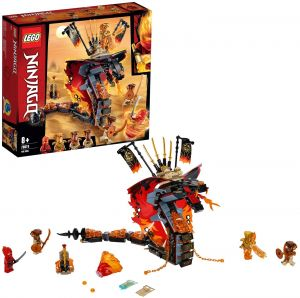 LEGO NINJAGO 70674 'Feuerschlange', 463 Teile, ab 8 Jahren, inkl. 4 Minifiguren