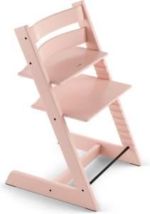 Stokke 'Tripp Trapp' Hochstuhl, serene pink, höhenverstellbar, Buche massiv, bis 110 kg