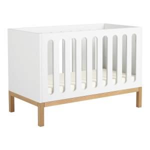 Quax 'Indigo' Babybett White 60 x 120 cm