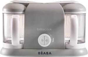 BÉABA 'Babycook Duo' Babynahrungszubereiter 4 in 1 Grau, 2.200 ml XXL-Fassungsvermögen