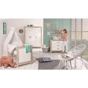 Schardt 'Nordic Halifax' 3-tlg. Babyzimmer-Set Schrank 3-türig