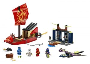 LEGO NINJAGO 71749 'Flug mit dem Ninja-Flugsegler', 147 Teile, ab 4 Jahren