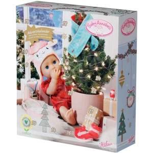 ZAPF Creation 'Baby Annabell Adventskalender 2021', 24 Überraschungen, Puppenzubehör, ab 3 Jahren