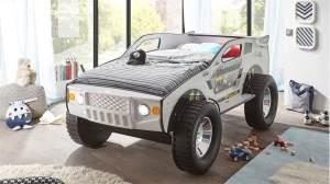 Bega Autobett SUV mit LED weiß 90x200
