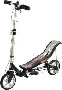 East Side 86005 'Space Scooter X 580' Scooter, ab 8 Jahren, 3-fach höhenverstellbar, klappbar, max. belastbar bis 90 kg, schwarz