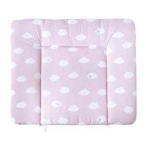 Roba 'Kleine Wolke' Wickelauflage 75 x 85 cm rosa