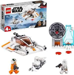 LEGO Star Wars 75268 'Snowspeeder', 91 Teile, ab 4 Jahren, inkl. 2 Minifiguren, Echo-Basis und Speeder Bike