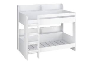 Polini Kids Etagenbett 5000 in weiß 90x200