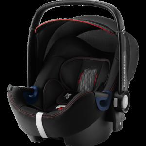 Britax Römer 'Baby-Safe 2 i-Size Cool Flow' Babyschale 2020 Black Gruppe 0+, mit Base