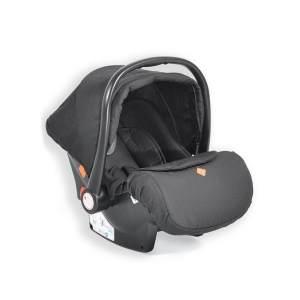 Cangaroo Babyschale Kindersitz Macan Gruppe 0+ (0 - 13 kg) Fußabdeckung Kissen schwarz