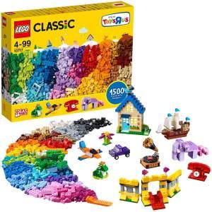 LEGO Classic 10717 'Extragroße Steinebox', 1500 Teile, ab 4 Jahren