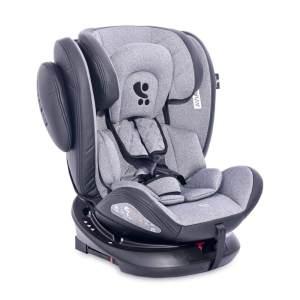 Lorelli Kindersitz Aviator SPS Isofix Gruppe 0+/1/2/3 (0 - 36 kg) 0 - 12 Jahre hellgrau