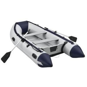 ArtSport 'Schlauchboot 3,20 m mit 2 Sitzbänken', mit Aluboden, für 4 Personen, inkl. Paddel, Luftpumpe, Tragetasche und 4x Aluminium-Böden