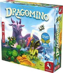Pegasus Spiele 'Dragomino' (Kinderspiel des Jahres 2021)