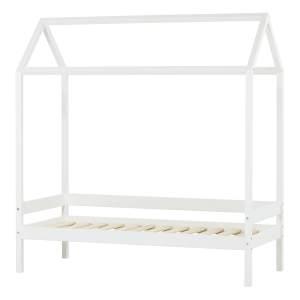 Hoppekids 'Ida-Marie' Hausbett 70x160cm, Weiß, inkl. Lattenrost
