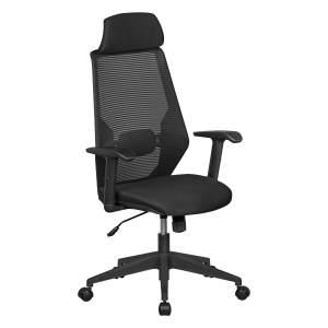 Amstyle 'NetStar' Schreibtischstuhl schwarz