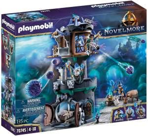 PLAYMOBIL Novelmore 70745 'Violet Vale - Zaubererturm', 135 Teile, ab 4 Jahren