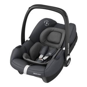 Maxi-Cosi 'Tinca i-Size' Babyschale 2020 Essential Graphite, 0-12 kg (45 bis 75 cm), mit Seitenaufprallschutz, inkl. Sonnenverdeck