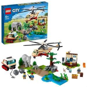 LEGO City 60302 'Tierrettungseinsatz', 525 Teile, ab 6 Jahren