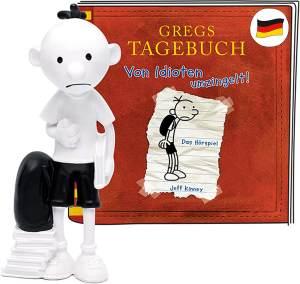 Tonies Greg's Tagebuch 'Von Idioten umzingelt', Hörfigur mit ca. 78 Minuten Spielzeit, ab 10 Jahren