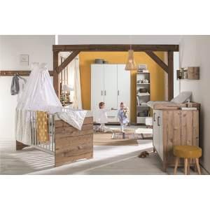 Schardt 'Timber' 2-tlg. Babyzimmer-Set inkl. Kinderbett und Wickelkommode