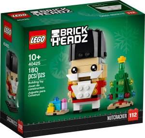 LEGO BrickHeadz 40425 'Nußknacker', 180 Teile, ab 10 Jahren