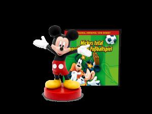 Tonies Disney 'Mickys total verrücktes Fußballspiel' Hörfigur mit 60 Minuten Spielzeit, ab 3 Jahren