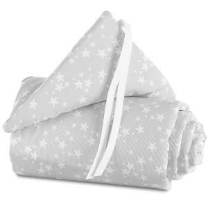 Babybay 'Piqué' Bettnestchen für Babybay Original grau/weiß,Sterne