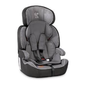Lorelli Kindersitz Navigator Gruppe 1/2/3 (9-36 kg) 1 bis 12 Jahre umwandelbar, Farben:silbergrau