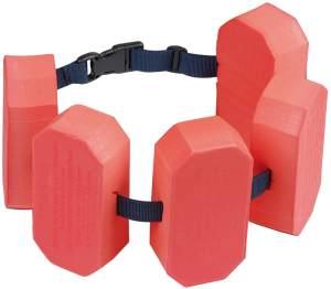 BECO 'Sealife' Schwimmgürtel, rot, verstellbares Gurtband mit Patentverschluss, für Kinder von 2-6 Jahren und 15-30 kg Körpergewicht
